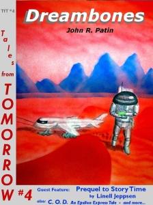 John Patin DreambonesTfT #4 cover title